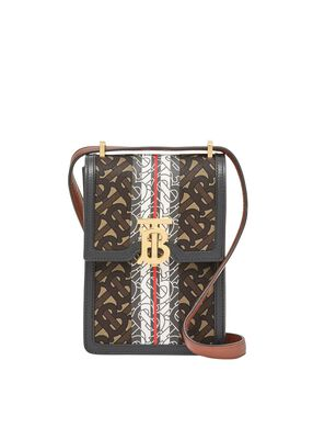 Monogram Stripe E-canvas Robin Bag