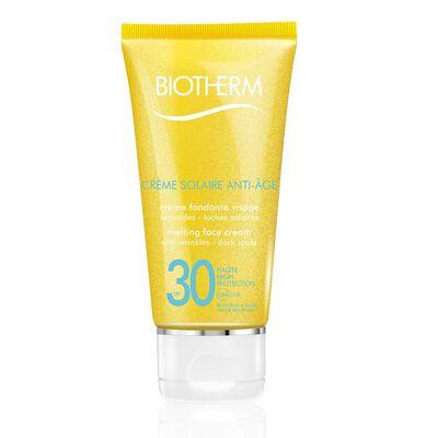 Crème Solaire Anti-Âge SPF30