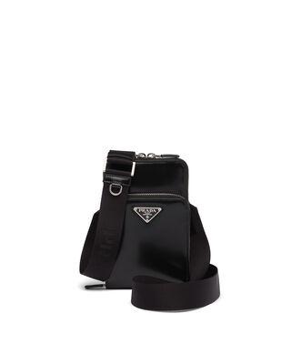 Brushed leather smartphone case
