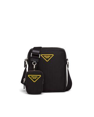 Nylon Cross-Body Bag