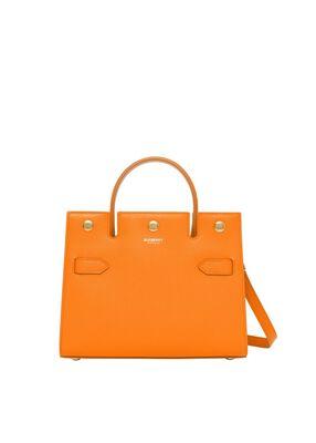 Mini Leather Title Bag