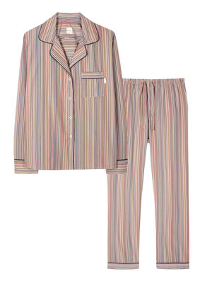 Women's Signature Stripe Cotton Pyjama Set