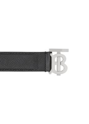 Monogram Motif Grainy Leather Belt, , hi-res
