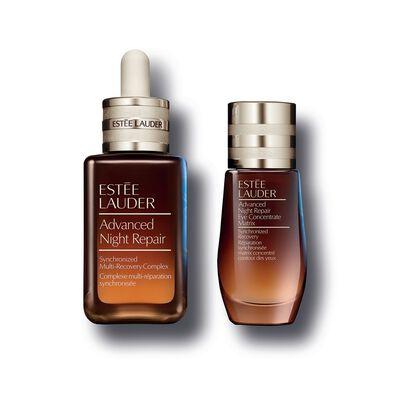 Advanced Night Repair Face Serum and Eye Matrix Set