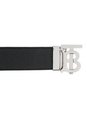 Reversible Monogram Motif Leather Belt, , hi-res