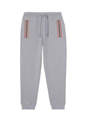 Icon Stripe Detail Cotton Jogging Pants