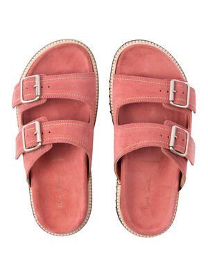 Women's Pink Suede 'Phoenix' Sandals