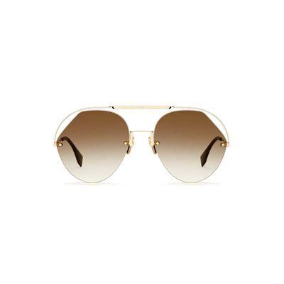 Sunglasses Ff 0326-S Brown Brown