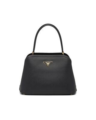 Medium Saffiano Leather Prada Matinée Bag