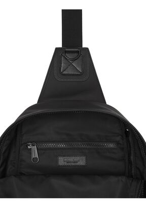 Horseferry Print Coated Canvas Backpack, , hi-res