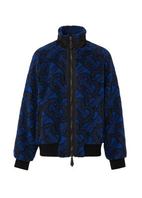Monogram Fleece Jacquard Jacket