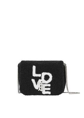 Micro Love Motif Towelling Lola Bag