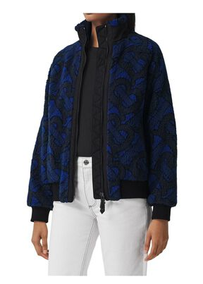 Monogram Fleece Jacquard Jacket, , hi-res