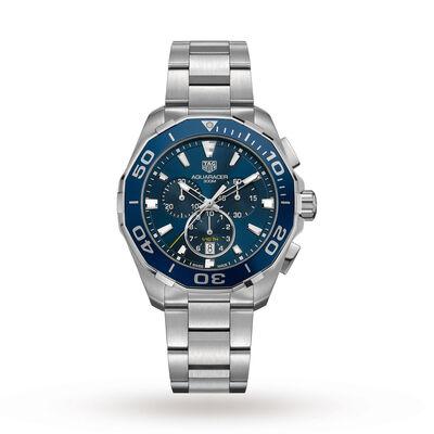 Aquaracer 300M 43mm Quartz Chronograph Mens Watch