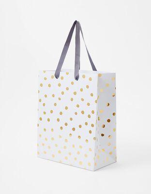 Gold Spot Medium Gift Bag