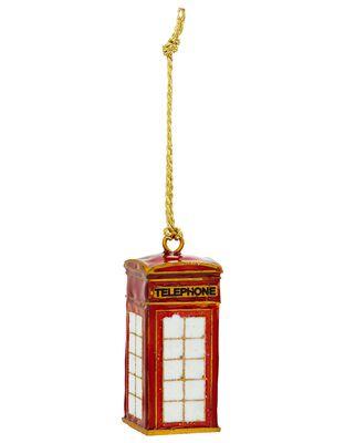 London Telephone Box Hanging Decoration
