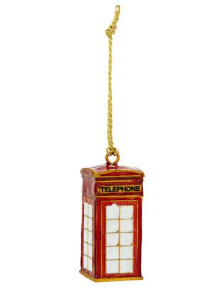 London Telephone Box Hanging Decoration, , hi-res