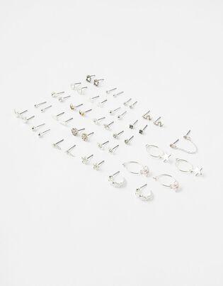 Mixed Shape Stud Earring Mutipack, , hi-res
