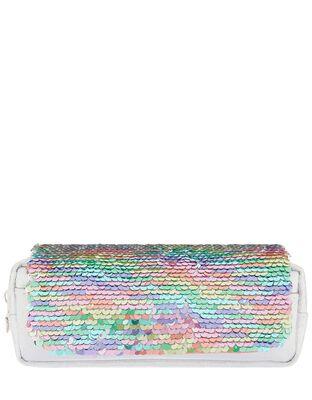 Reversible Rainbow Sequin Pencil Case