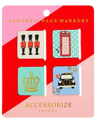 London Landmarks Magnetic Page Markers