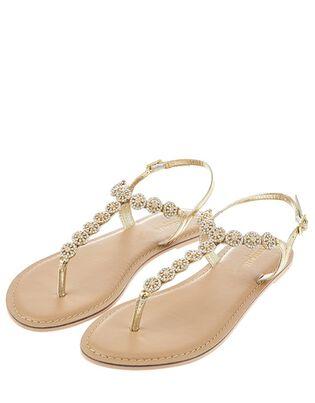 Rome Diamante Embellished Sandals, , hi-res