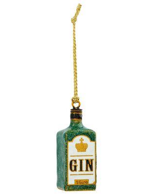 London Gin Bottle Hanging Decoration, , hi-res