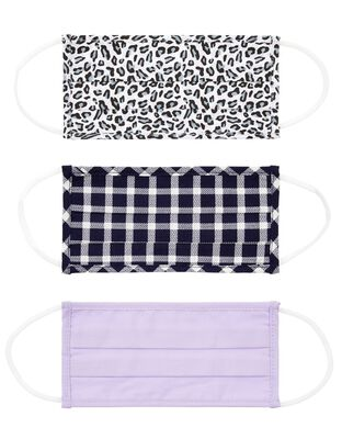 Face Covering Multipack in Pure Cotton