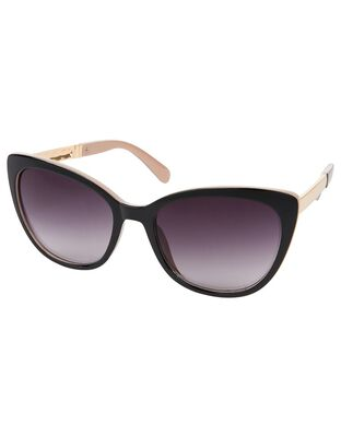 Carrie Two-Tone Cat-Eye Sunglasses