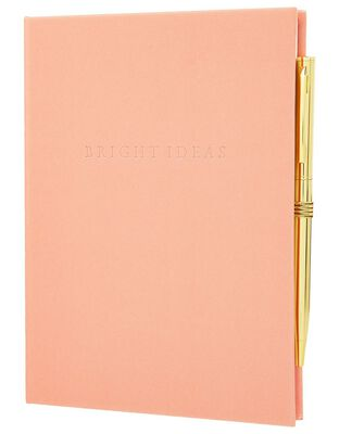 Bright Ideas Notebook and Pen Set