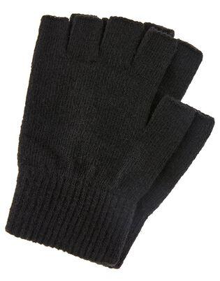 Super-Stretch Fingerless Gloves, , hi-res
