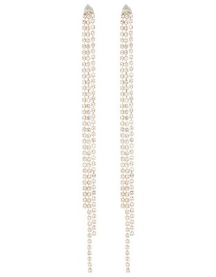 Extra Long Cup Chain Drop Earrings