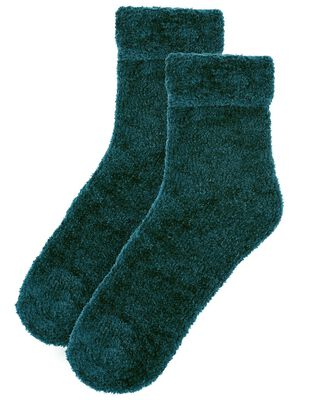 Fluffy Chenille Cosy Ankle Socks