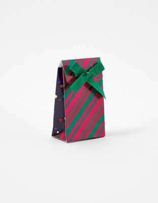 Foil Stripe Gift Pouch