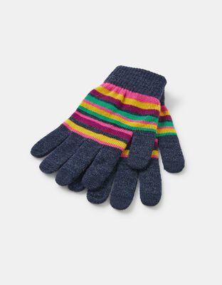 Stripe Super-Stretch Touchscreen Gloves