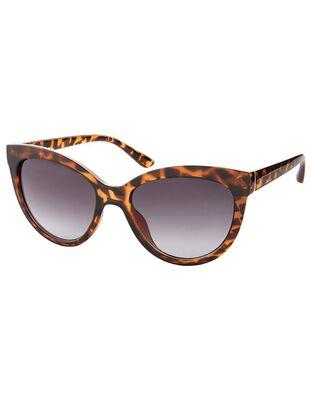 Catriona Tortoiseshell Cat-Eye Sunglasses