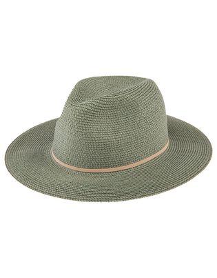Straw Panama Hat, , hi-res