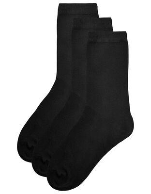 3pk Basic Bamboo Ankle Socks