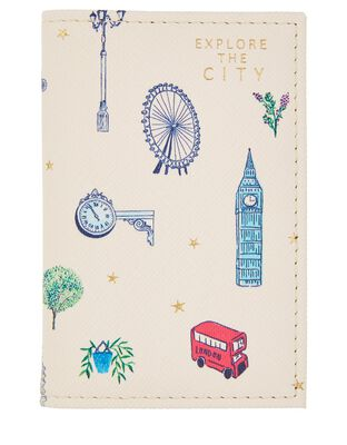 All-Over London Printed Cardholder