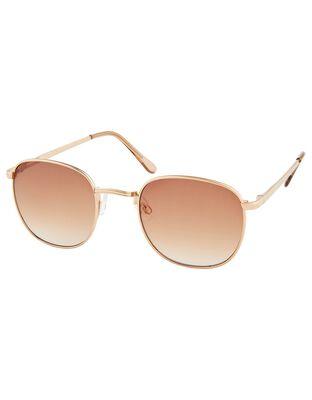 Regina Metal Tinted Sunglasses