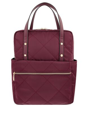Emmy Vegan Quilted Backpack