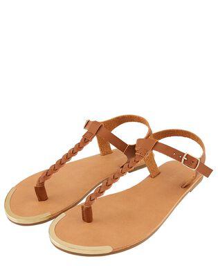 Plaited Strap Sandals, , hi-res