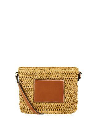 Julia Woven Cross-Body Bag, , hi-res