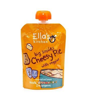 Ellas Cheesy Pie w/Veg Pouch Stg2
