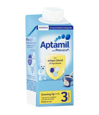Aptamil Growing Up Milk 1-2yrs RTF 200ml, , hi-res