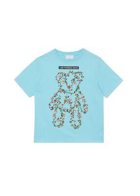 Montage Print Cotton T-shirt