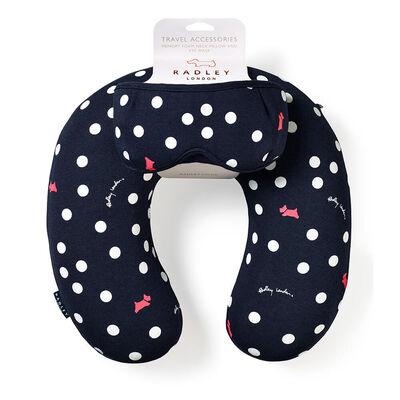 Neck Pillow & Eye Mask Set