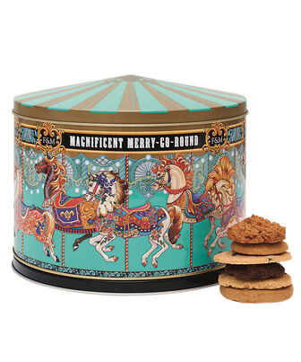 Merry Go Round Musical Biscuit Tin, , hi-res