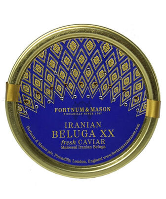 Farmed Iranian Beluga XX Caviar 100g, , hi-res