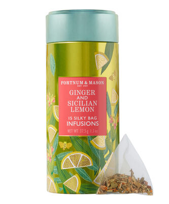 Ginger & Sicilian Lemon Infusion Tin