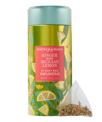 Ginger & Sicilian Lemon Infusion Tin, , hi-res